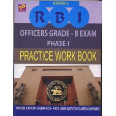 Kiran Prakashan RBI Officers Grade 'B' Phase I PWB (EM)@220/-